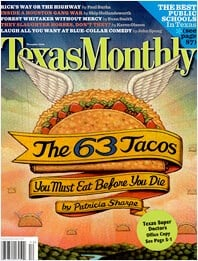 Texas Monthly 2007