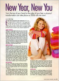 Fort Worth, Texas Best of 2005 Issue - Dr. White featured in New Year, New You article