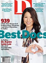 D Magazine Best Doctors 2016